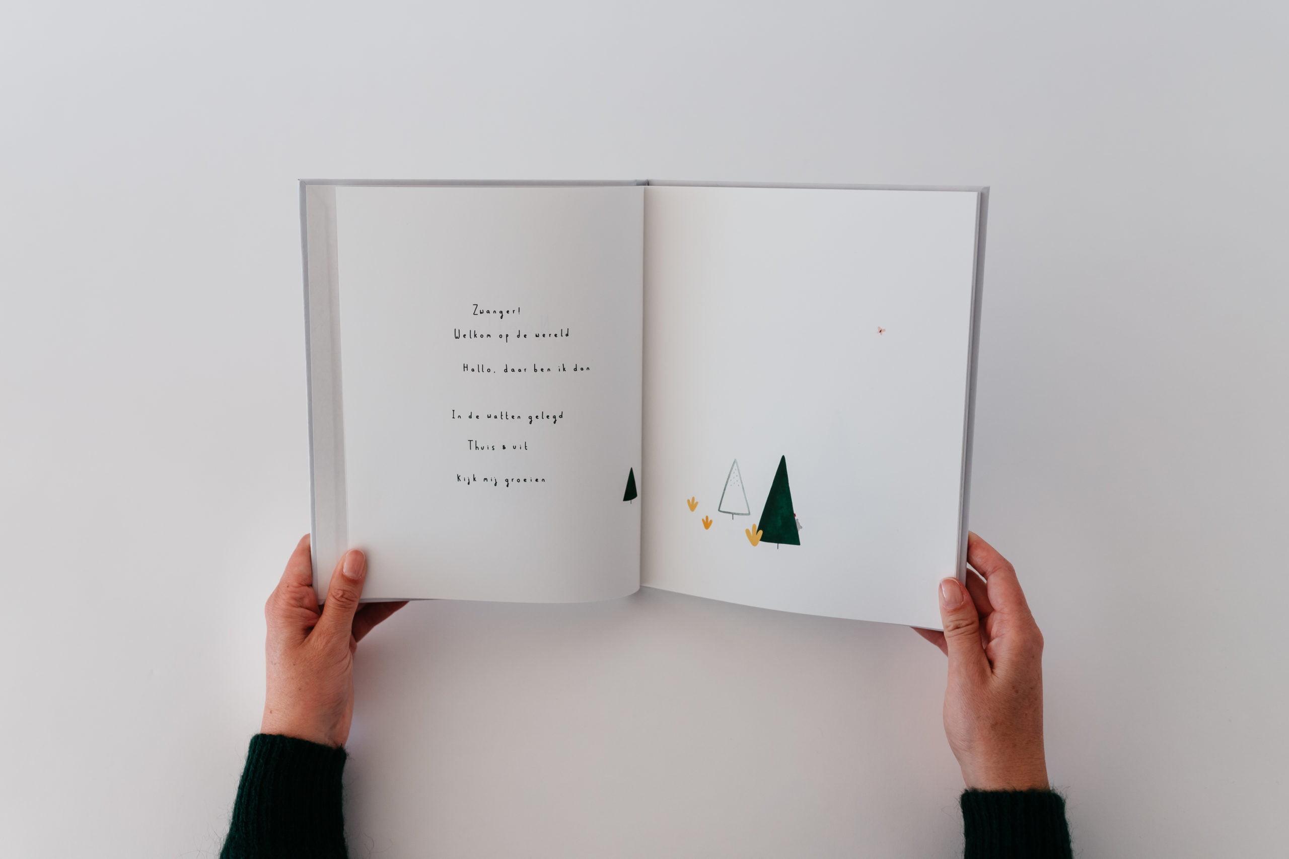 Newborn boek het verhaal